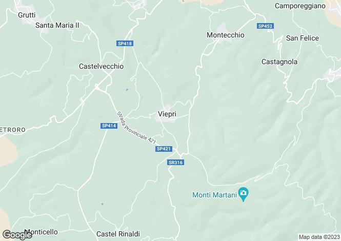 Map for Massa Martana, Perugia, Umbria