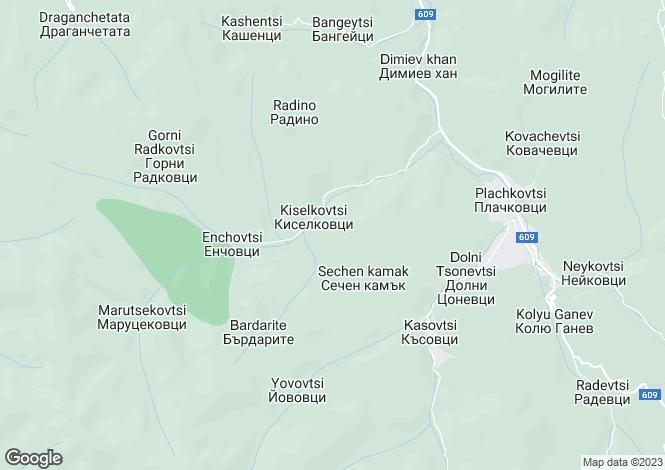 Map for Plachkovtsi, Gabrovo
