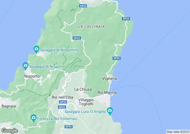 Map for Rio Marina, Livorno, Italy