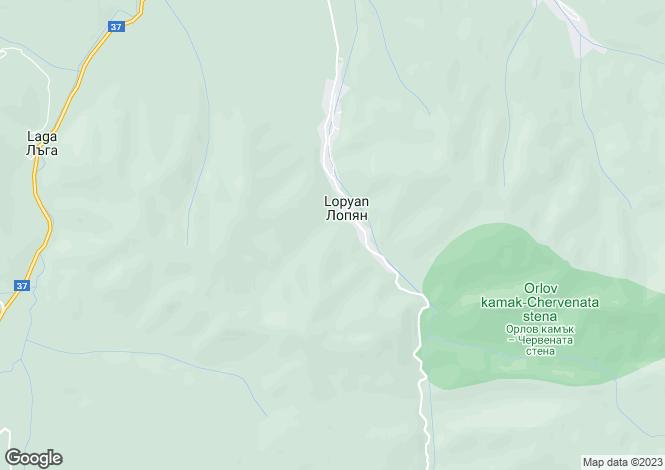 Map for Sofiya, Lopyan