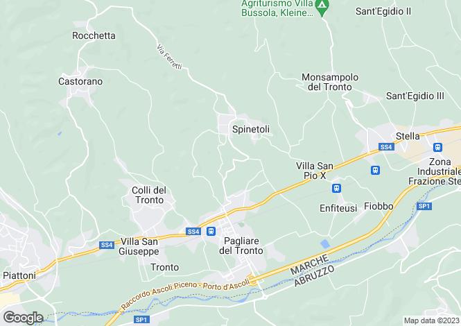 Map for Le Marche, Ascoli Piceno, Ascoli Piceno