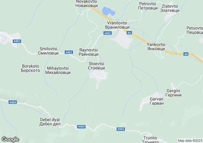 Map for Gabrovo, Gabrovo