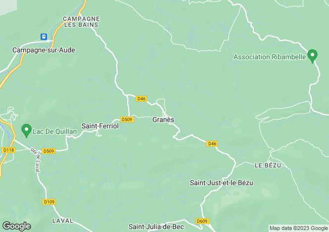 Map for Agence de Quillan