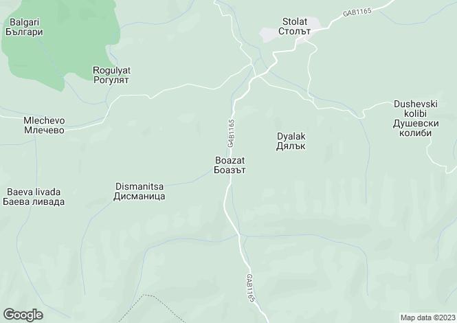 Map for Sevlievo, Gabrovo