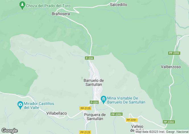 Map for Reinosa, Santander, Cantabria