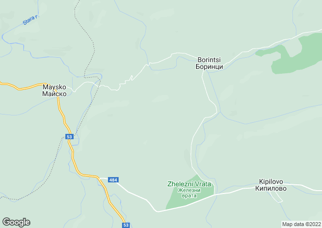 Map for Sliven, Kotel