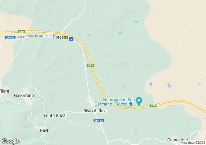 Map for Gavorrano, Grosseto, Italy