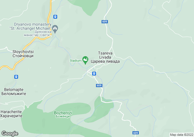 Map for Tsareva Livada, Gabrovo