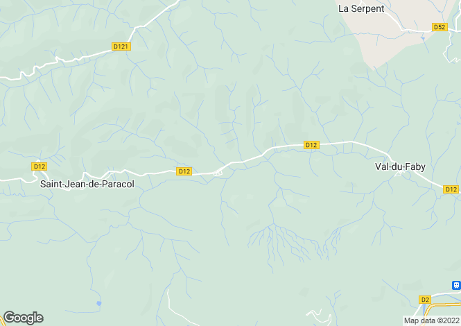 Map for Proche/Near Esperaza, Aude