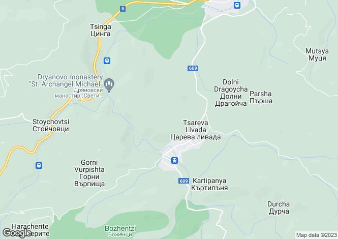 Map for Tsareva Livada, Gabrovo