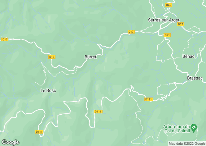 Map for montaut, Ariège, France
