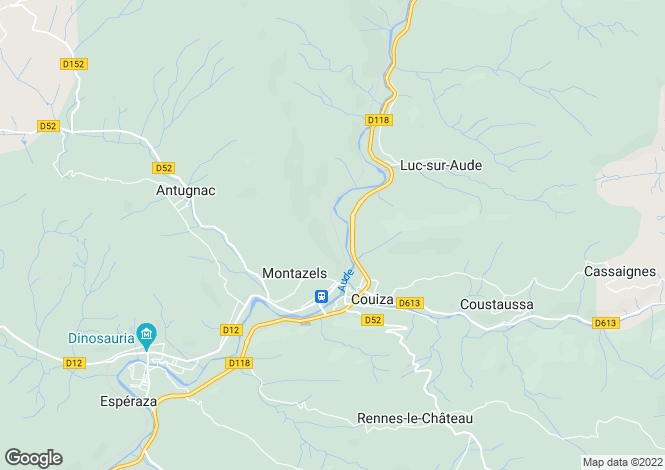 Map for Montazels, Languedoc-Roussillon, France