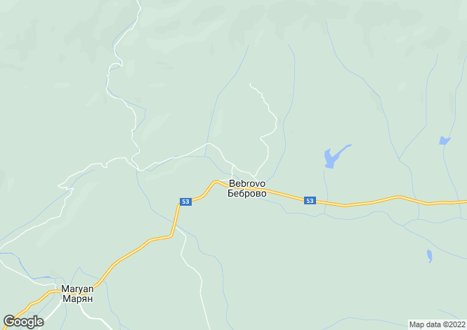 Map for Veliko Tarnovo, Elena