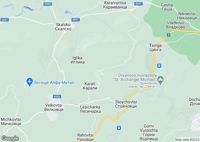 Map for Kostenkovtsi, Gabrovo