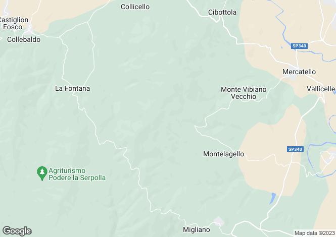 Map for Marsciano, Perugia, Umbria