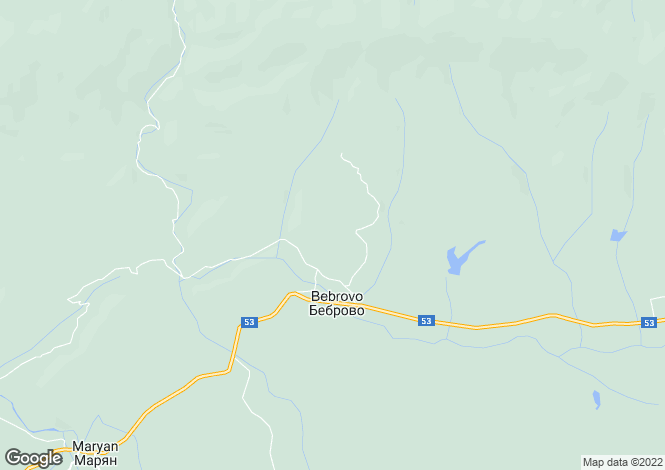 Map for Bebrovo, Veliko Tarnovo