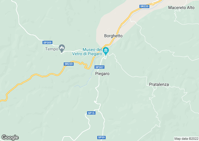 Map for Umbria, Perugia, Piegaro