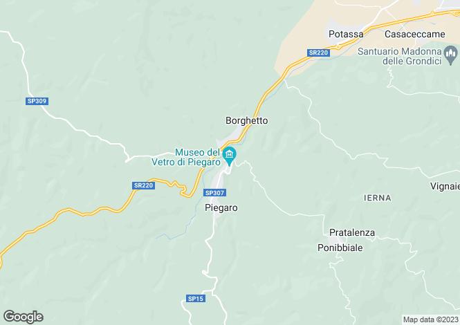Map for Via dell'Industria, Piegaro, Umbria