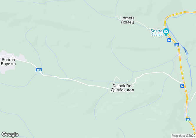 Map for Dulbok Dol, Lovech