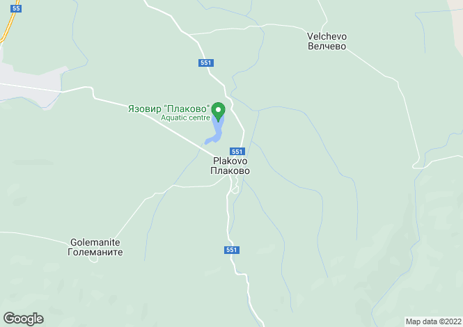 Map for Veliko Tarnovo, Plakovo
