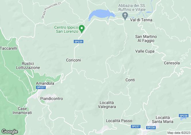 Map for Amandola, COLLE FIORITO