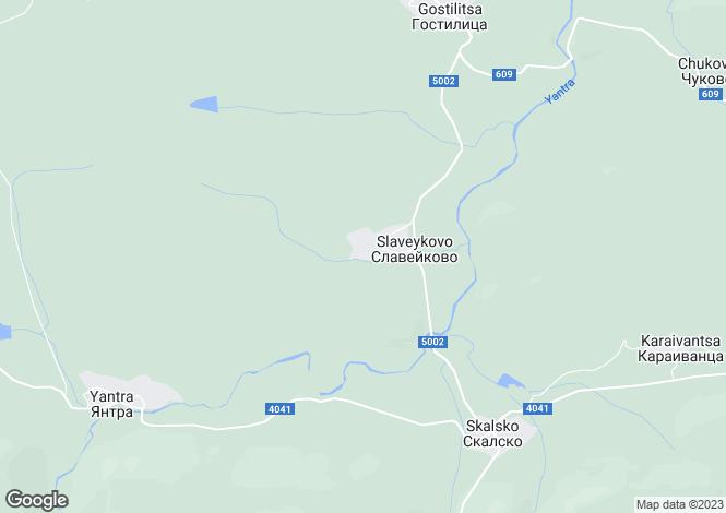 Map for Slaveykovo, Gabrovo