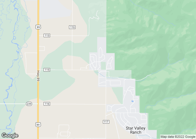 Map for Wyoming