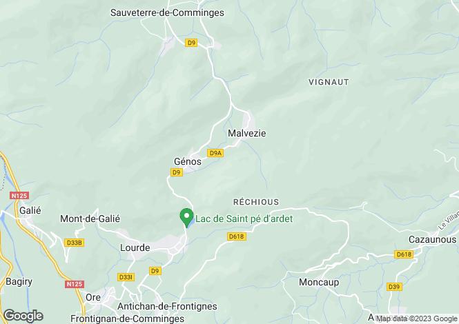 Map for malvezie, Haute-Garonne, France