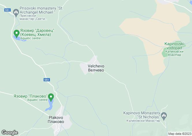 Map for Velchevo, Veliko Tarnovo