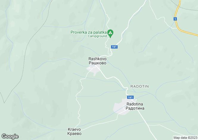 Map for Botevgrad, Sofiya
