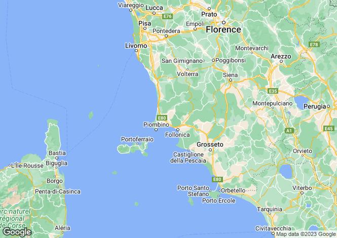 Map for Rosignano Solvay,Italy
