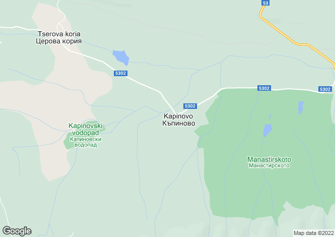 Map for Veliko Tarnovo, Veliko Turnovo