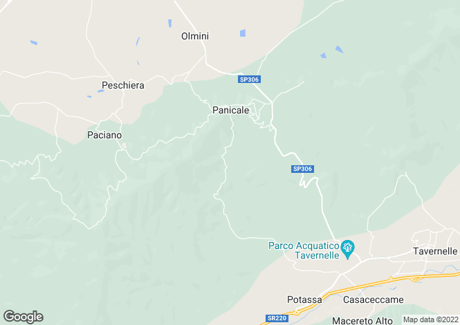 Map for Umbria, Perugia, Panicale