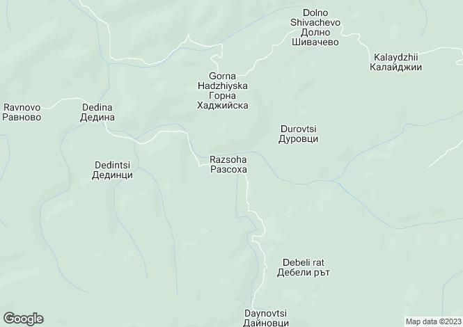 Map for Zlataritsa, Veliko Tarnovo