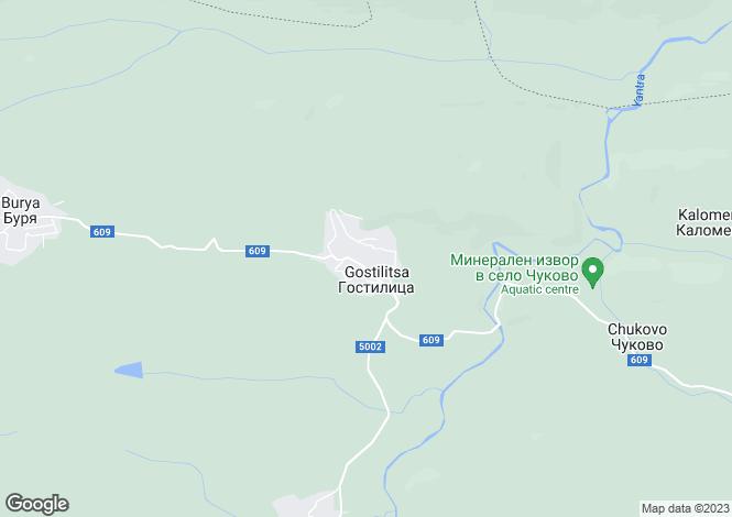 Map for Gostilitsa, Gabrovo