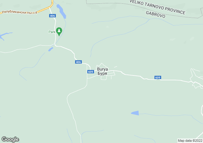 Map for Gabrovo, Burya