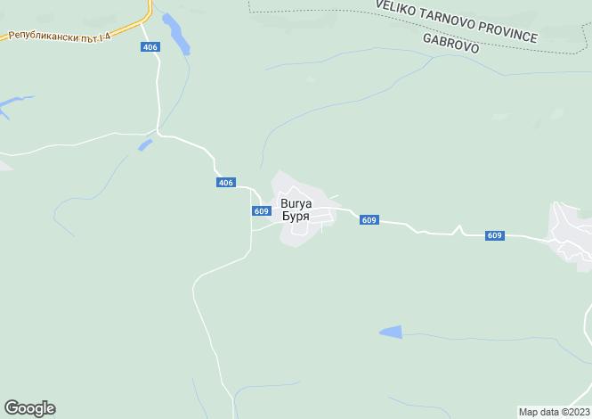 Map for Burya, Gabrovo