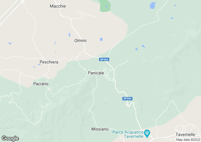 Map for Umbria, Perugia, Tavernelle