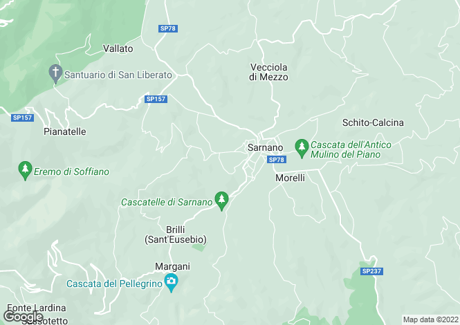 Map for Le Marche, Macerata, Sarnano