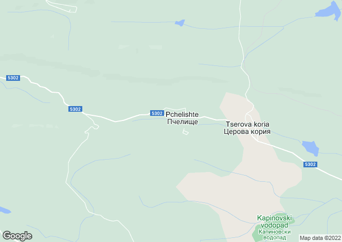 Map for Pchelishte, Veliko Tarnovo