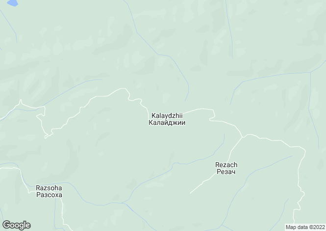 Map for Veliko Tarnovo, Zlataritsa