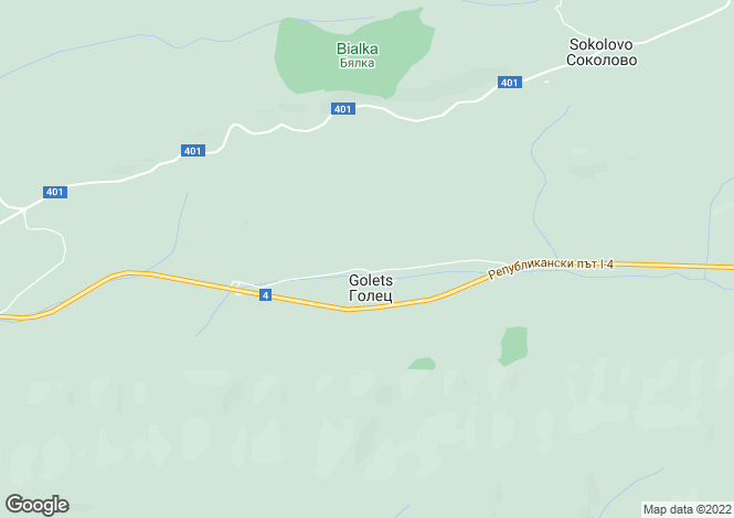 Map for Lovech, Mikre