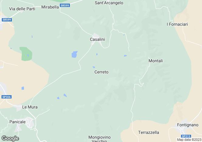 Map for Umbria, Perugia, Panicale
