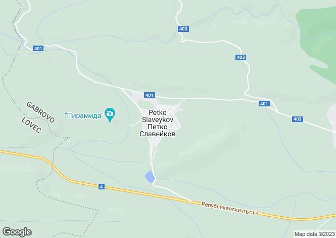 Map for Petko Slaveykov, Gabrovo