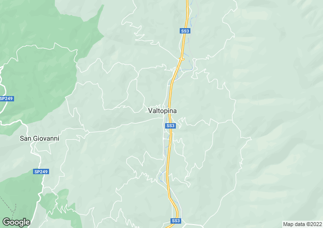 Map for Umbria, Perugia, Valtopina