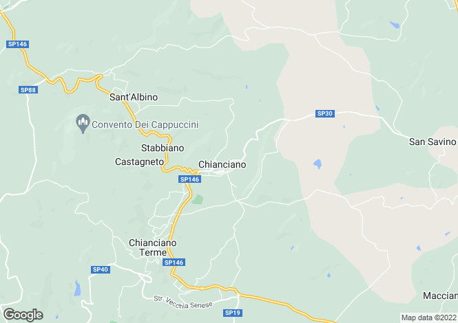 Map for Strada Provinciale Chiana, Chianciano Terme, Tuscany