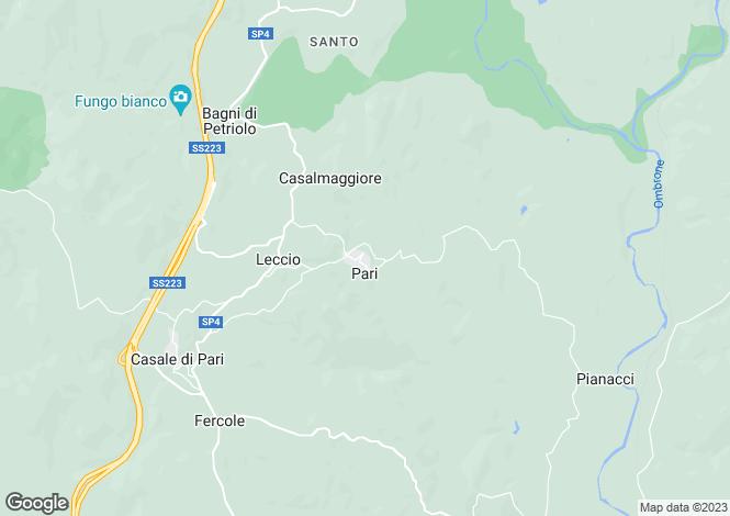 Map for Tuscany, Grosseto, Grosseto