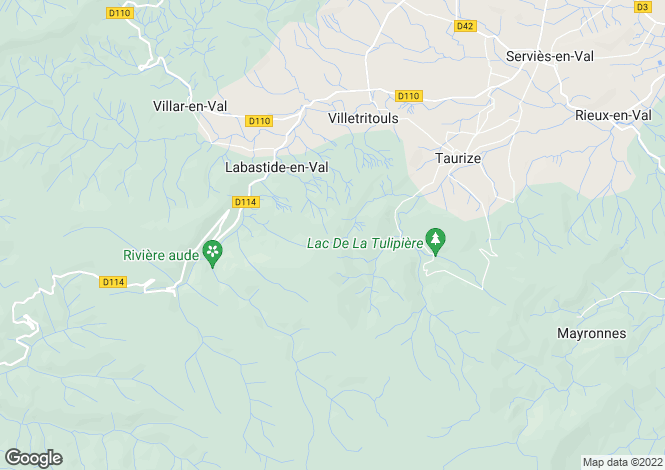 Map for labastide-en-val, Aude, France