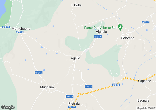 Map for Magione, Perugia, Umbria