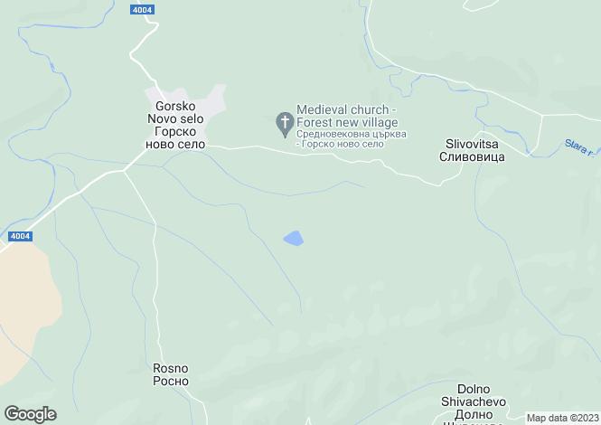 Map for Gorsko Novo Selo, Veliko Tarnovo